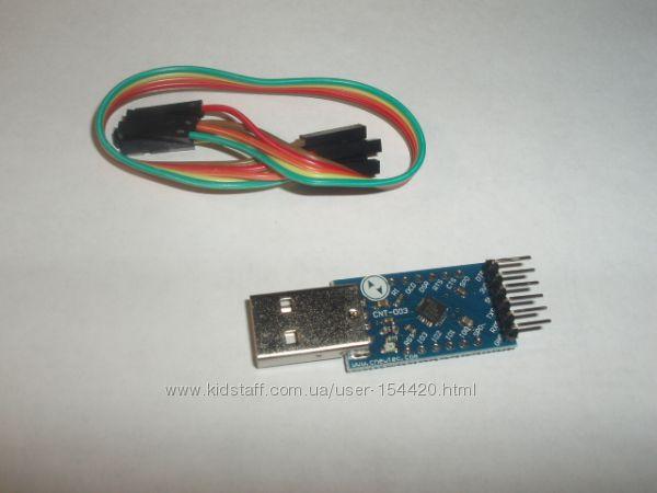 Адаптер USB-to-UART на CP2104 RS232 TTL 6PIN Module CP2104