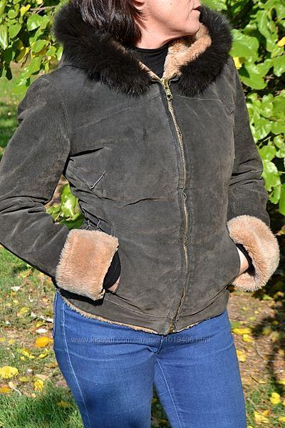 Дублёнка женская, размер 42