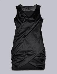 Коктейльное черное платье Vila Clothes