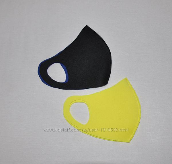 Многоразовая, защитная маска питта для лица. не медицинская