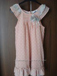 Продам очаровательное платьице George р. 5-6 лет 110-116 см