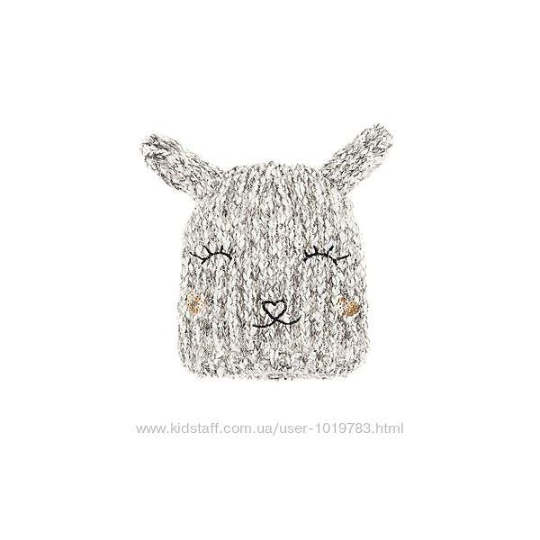 Классная шапочка для девочки 3-5 лет