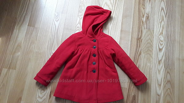 Флисовое пальто Old Navy для девочки на возраст 4-5 лет