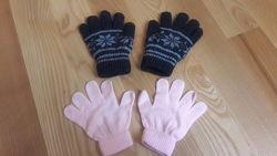 Перчатки для девочки 4-5 лет