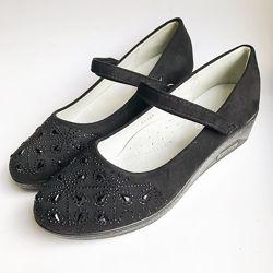 Школьные туфли для девочек ТМ Kimboo