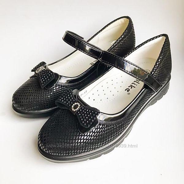 Качественные туфли для девочек 27 29