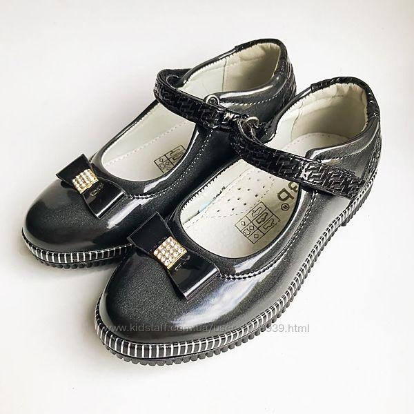Качественные туфли для девочек 27 30 32
