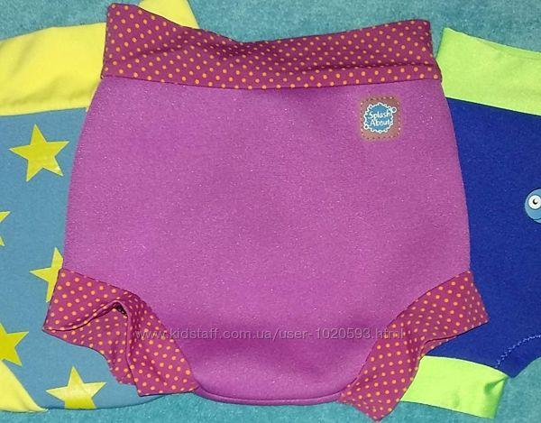 плавки детские SplashAbout неопрен xlarge подгузник в бассейн-море