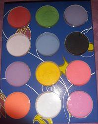 Набор цветной акриловой пудры 12 цветов Распродажа