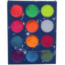 Цветной пигмент для геля и акрила, 12шт Распродажа