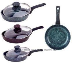 Сковорода антипригарная Edenberg 20, 22, 24, 26 см Низкая цена