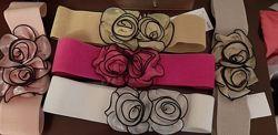Очень красивые пояса на резинке, 5 цветов в наличии Распродажа
