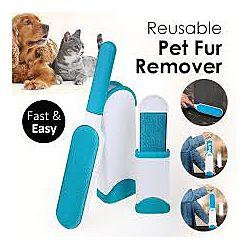 Щётка для удаления шерсти животных Reusable Pet Fur Remover With Self-Clean