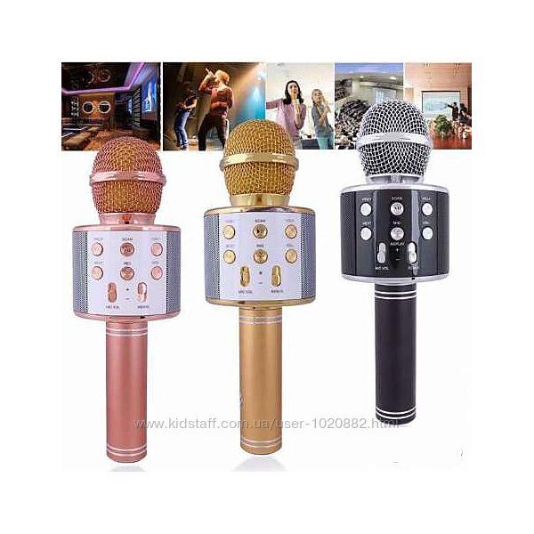 Беспроводной микрофон караоке WSTER WS-858