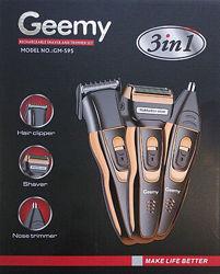 Машинка для стрижки  бритва  триммер 3 в 1 Geemy GM-595
