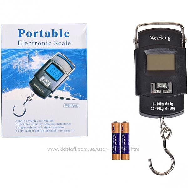 Цифровые весы кантер WH-A08 электронный безмен до 50 кг