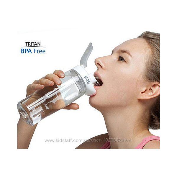 Бесконтактная бутылка для воды ESLOE Супер цена