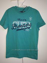 Tommy Hilfiger футболка для мальчика 116р. Цвет бирюзовый. Оригинал. Новая