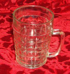 Стеклянный бокал для пива