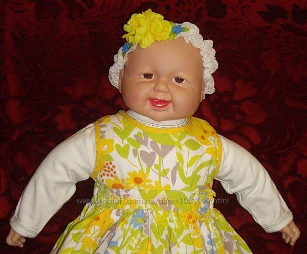 Большая куколка-пупс барышня