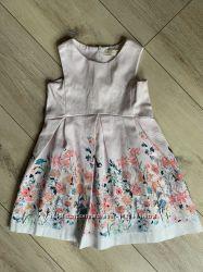 Zara girl, красивое платье, сарафан, 110 см. Оригинал. Идеальное. Зара