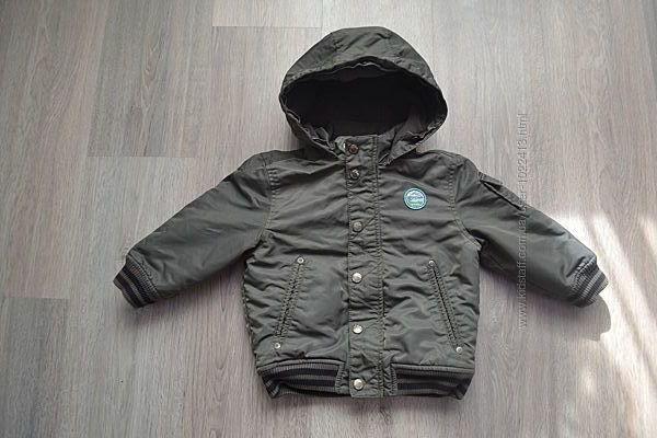 Деми куртка ф. S. Oliver оригинал р. 86 см 1-2 года в отличном состоянии
