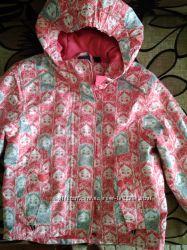 Демисезонная термо куртка для девочки