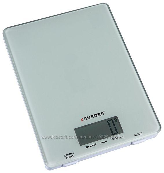 Оригинальные  Кухонные электронные весы AURORA