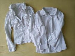 Две рубашки на школьницу 7лет