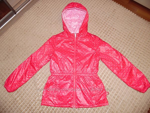 красивая, качественная, двухсторонняя курточка Benetton р.134-140