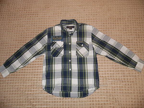 Рубашка Polo на 10-12 лет, можно для школы, идеальное состояние