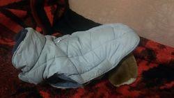куртка-попонка теплая для собачки