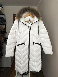 Пальто пуховик куртка Moncler 38 M
