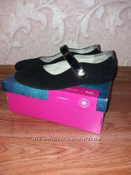 Туфли Lionelli замшевые полностью кожаные, р. 35 в идеальном состоянии