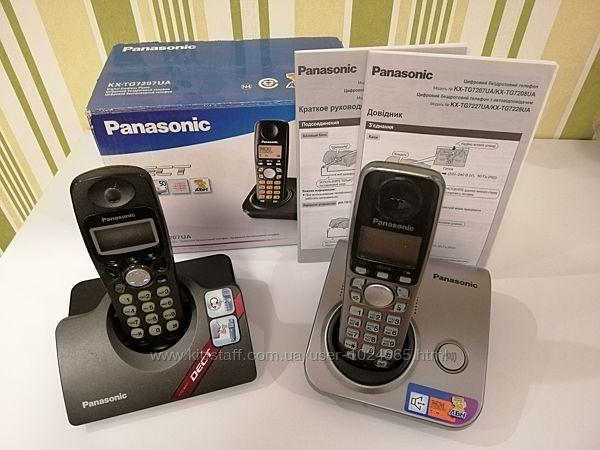 Продается два радиотелефона PANASONIC