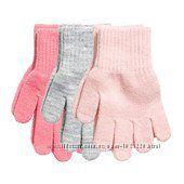 Перчатки h&m разные мальчикдевочка