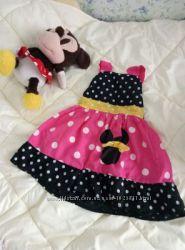 Платье для девочкис Мини Маус , 6-12мес