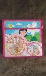 Пазли для ванної Принцеси Meadow Kids 6шт