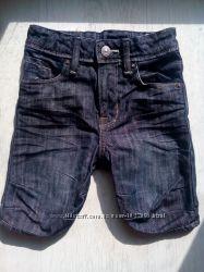 Джинсовые шорты H&M 3-5 лет.