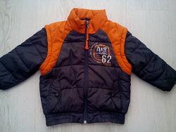 Куртка-жилетка Tom Tailor 3-5  лет.
