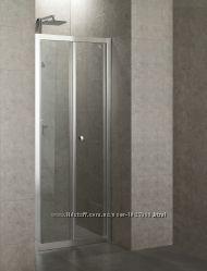 Душевая дверь для установки в нишу Eger 599-163-90, складывающиеся во внутрь