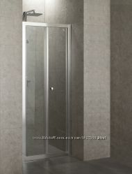 Душевая дверь для установки в нишу Eger 599-163-80, складывающиеся во внутр
