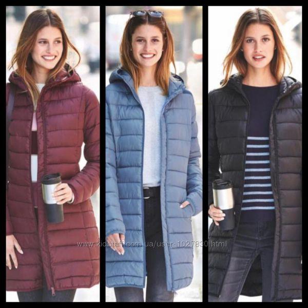 Удлиненная демисезонная куртка.  Blue Motion Германия. Все размеры и цвета.