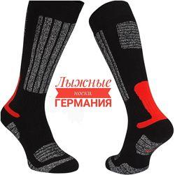 Зимние лыжные носки. Германия. В составе шерсть Р. 36-47