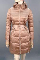 РаспродажаСтеганное куртка-пальто. Италия. ХS, S. 2 цвета