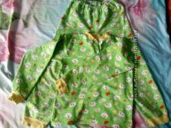 Зелёная пижама на баечке