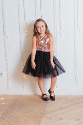 Шикарное нарядное платье пайетка-перевертыш от производителя