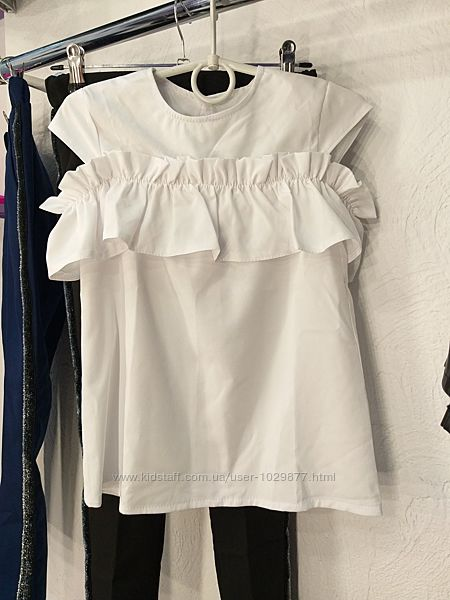 Школьная блузка Волан от производителя