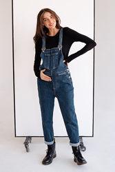 Комбинезон для беременных, джинсовый