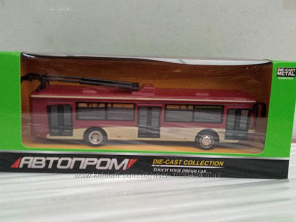 Троллейбус металл 6407